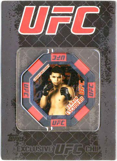 UFC Topps Main Event Efrain Escudero Exclusive Poker Chip #15