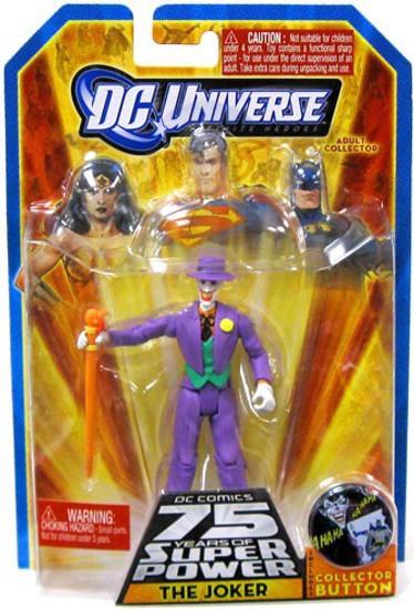 DC Universe 75 Years of Super Power Infinite Heroes The Joker Action Figure