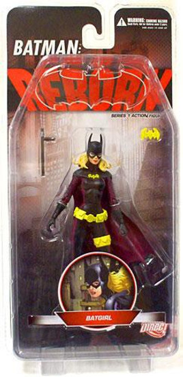 Batman Reborn Series 1 Batgirl Action Figure