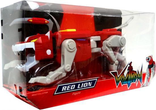 Voltron Club Lion Force Red Lion Exclusive Action Figure