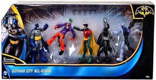 Batman Gotham City All-Stars Exclusive Action Figure 5-Pack