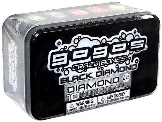 Crazy Bones Gogo's Black Diamond Black Diamond Exclusive Tin