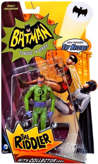 Batman 1966 TV Series Series 1 The Riddler Action Figure