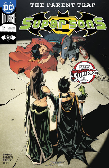 DC Super Sons #14 Comic Book