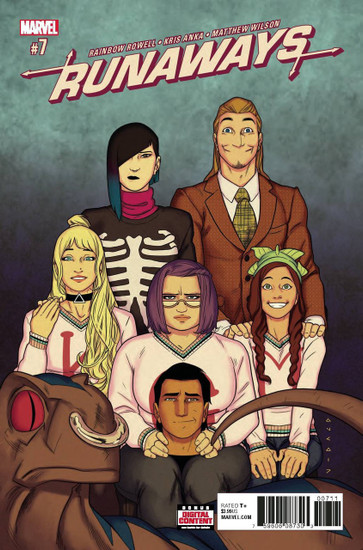 Runaways #7 Comic Book