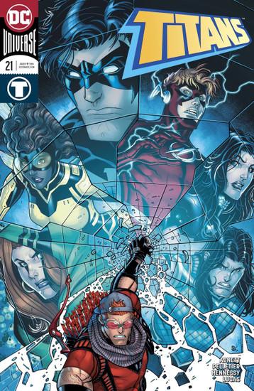 DC Titans #21 Comic Book [Variant Cover]