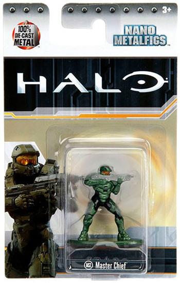 Halo Nano Metalfigs Master Chief Diecast Figure MS2 [MS2]
