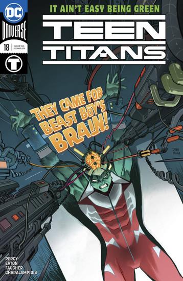 DC Teen Titans #18 Comic Book