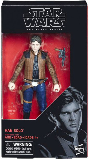Star Wars Black Series Han Solo Action Figure [Solo Movie]