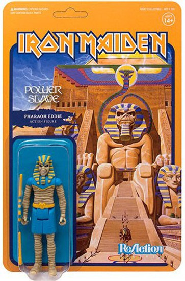 ReAction Iron Maiden Powerslave Eddie Action Figure