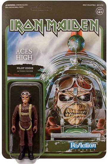 ReAction Iron Maiden Aces High Eddie Action Figure