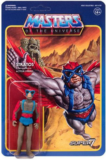 ReAction Masters of the Universe Series 3 Stratos Action Figure