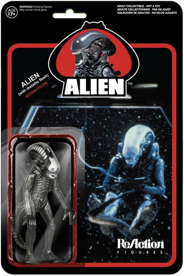 ReAction Alien Xenomorph Action Figure [Metallic Variant]