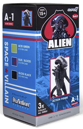 ReAction Alien Series 1 Xenomorph 3.75-Inch Mystery Pack [1 Figure]