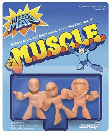 M.U.S.C.L.E. Pack A - Mega Man, Ice Man, Sniper Joe 1.75-Inch 3-Pack