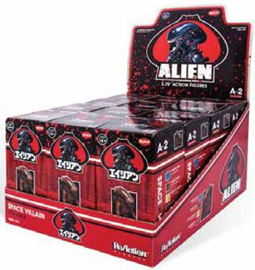 ReAction Alien Series 2 Xenomorph 3.75-Inch Mystery Box [12 Packs]