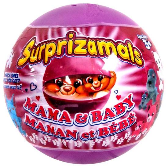 Surprizamals Mama & Baby Series 1 Mystery Box [20 Packs]