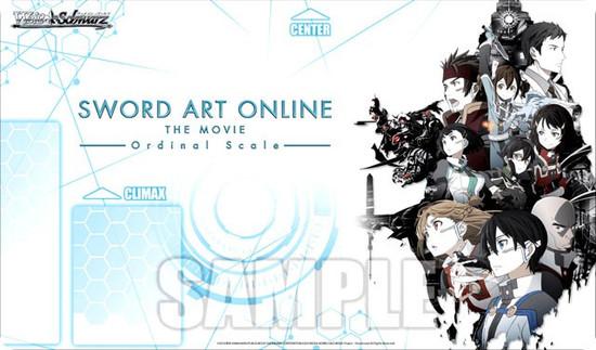 Weiss Schwarz Sword Art Online The Movie Card Supplies Ordinal Scale Playmat