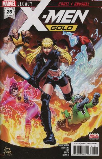 Marvel Comics X-Men Gold #25 Comic Book