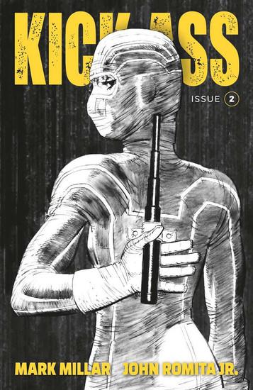 Image Comics Kick-Ass #2 Comic Book [Cover B Romita Jr Black & White]