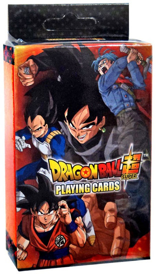 Dragon Ball Super Characters Group Playing Card Deck