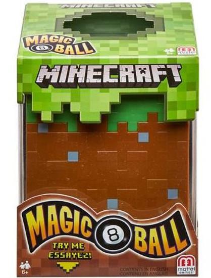 Minecraft 8-Ball Toy