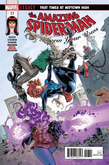 Marvel Comics Amazing Spider-Man #17 Renew Your Vows Comic Book