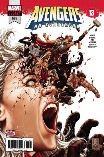Marvel Comics Avengers #687 Comic Book