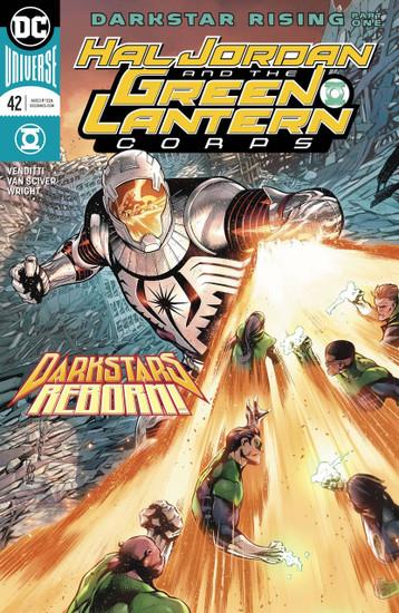 DC Hal Jordan and The Green Lantern Corps #42 Comic Book