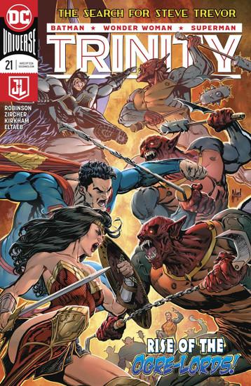 DC Trinity #21 Comic Book