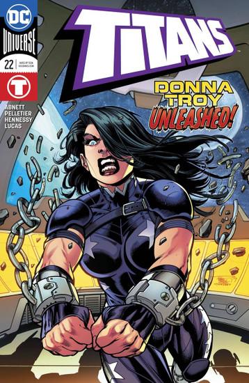 DC Titans #22 Comic Book