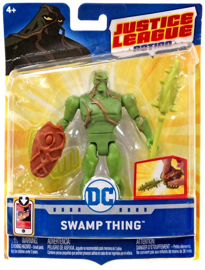 Justice League Action JLA Power Connects Swamp Thing Action Figure