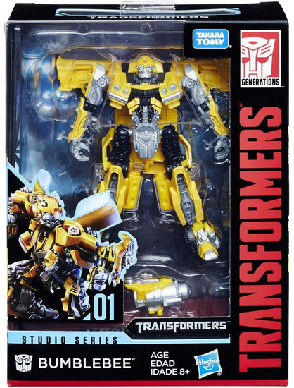 Transformers Generations Studio Series Bumblebee Deluxe Action Figure #01