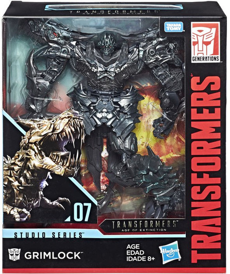 Transformers Generations Studio Series 07 Grimlock Leader Action Figure #07