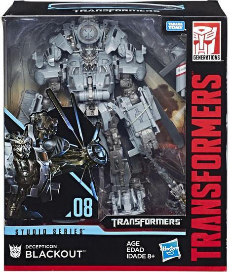 Transformers Generations Studio Series 08 Blackout Leader Action Figure #08