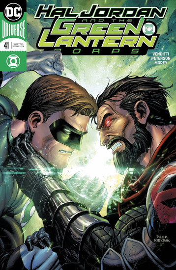 DC Hal Jordan and The Green Lantern Corps #41 Comic Book [Variant Cover]