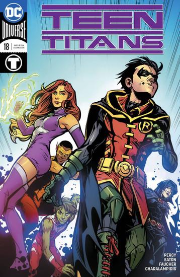 DC Teen Titans #18 Comic Book [Variant Cover]