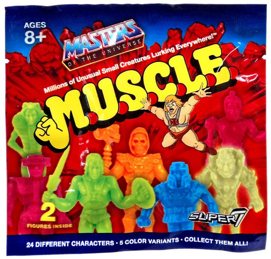 M.U.S.C.L.E. Masters of the Universe Mystery Pack