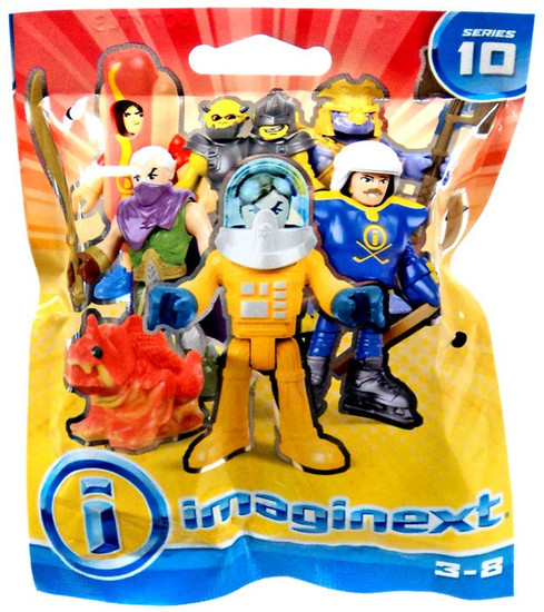 Fisher Price Imaginext Series 10 Collectible Figure Mystery Pack