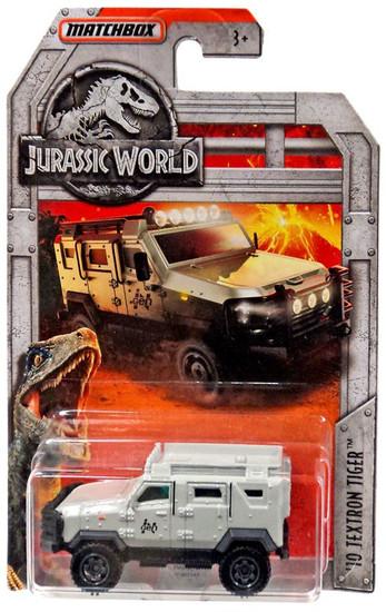 Jurassic World Matchbox '10 Textron Tiger Diecast Vehicle [Gray]