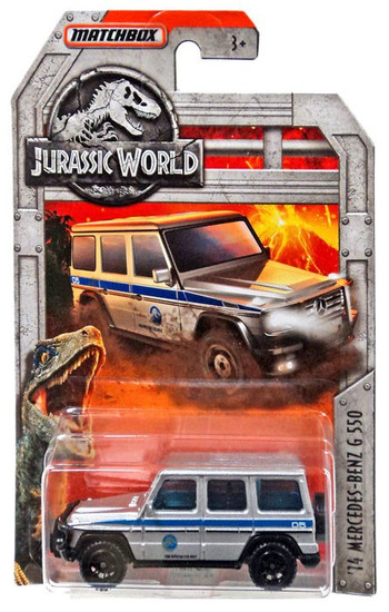 Jurassic World Matchbox '14 Mercedes-Benz G550 Diecast Car