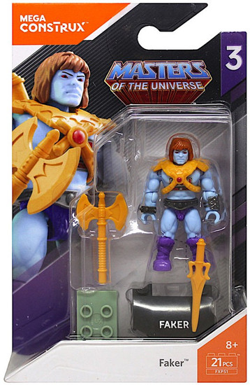 Mega Construx Masters of the Universe Heroes Series 3 Faker Mini Figure