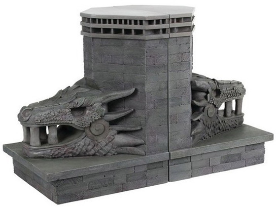 Game of Thrones Dragonstone Gate 7.5-Inch Bookends