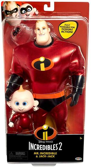 Disney / Pixar Incredibles 2 Mr. Incredible & Jack-Jack 12-Inch Doll