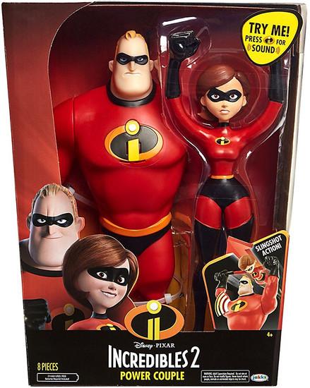 Disney / Pixar Incredibles 2 Power Couple 12-Inch Figure 2-Pack