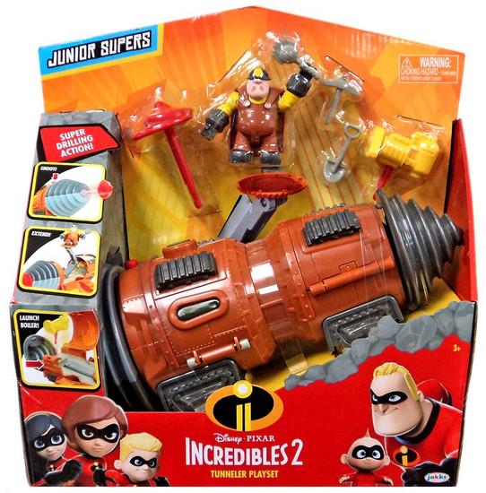 Disney / Pixar Incredibles 2 Junior Supers Tunneler Playset
