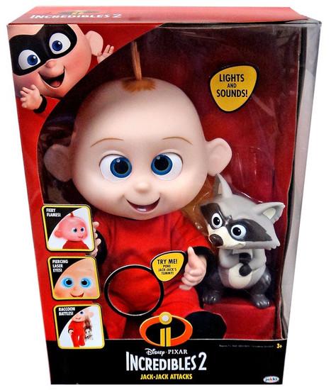 Disney / Pixar Incredibles 2 Jack-Jack Attacks Doll [Lights & Sounds]