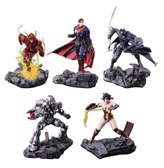 DC Trading Arts Figure 4.5-Inch Mystery Box [10 Packs]