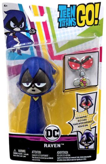 Teen Titans Go! Face-Swappers Raven Action Figure