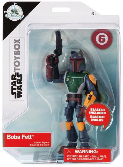 Disney Star Wars Toybox Boba Fett Exclusive Action Figure